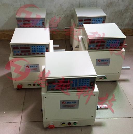全自动变压器磁芯组装包胶机